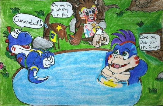 [Traditional] Time for Friends by BonnieBunny2