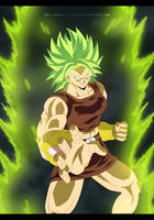 Broly - Dragon Ball Super 2017 by SenniN-GL-54
