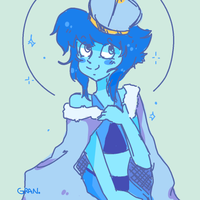 [OLD] lapis queen doodle by manatiki