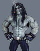 Lobo in... hey,where is my bg? by Alexklan
