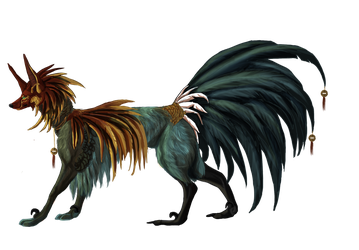 Year of Rooster Takuma hound Auction |Closed| by xXRed-RabidXx