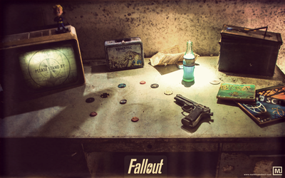 Fallout : Desk by Matthewsebert