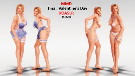 [MMD] TINA : Valentine's Day (Download) by LGMODS