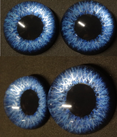 4cm 3d Blue by DreamVisionCreations
