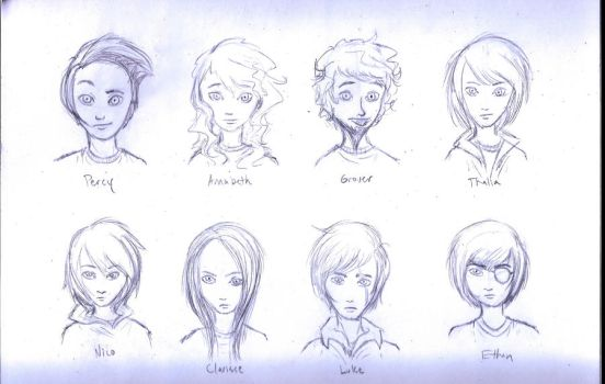 PJATO Characters - unfinished by blindbandit5