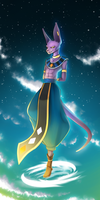 Beerus by x-Nekopunch-x