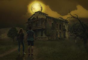 Alone and Old House by Roshan3312