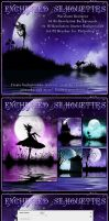Enchanted Silhouettes Resource by cosmosue