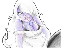 Giantess Amethyst by KasumiKills