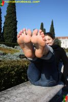 Put Your Feet In The Air 6 by Footografo