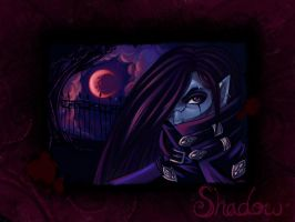 A Shadow Under The Red Moon by DigiAvalon