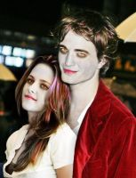 bella and edward by MOMOroxette