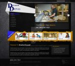 Detailed Drywall website design by acelogix