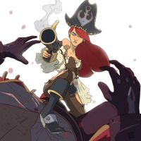 Miss Fortune by The-Poumi