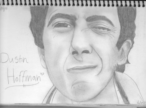 Dustin Hoffman by LilianClassic