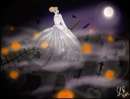 The pumpkin princess ghost by Usoinel