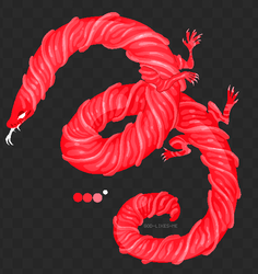 Halloween Advent Day 8 - licorice viper by GOD-LIKES-ME