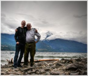 Uncle and Nephew combined near Kaslo, B.C., Canada by Nachtfokus