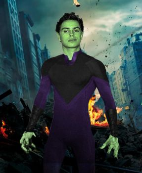 Beast Boy - Alternate Costume by QWoods