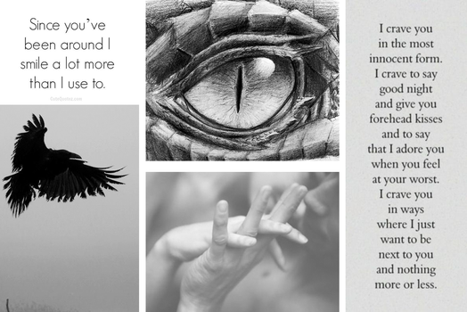 Couple Aesthetic: Demons Within [ Kevin x Raven ] by amplifang765