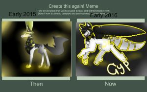 Before and after meme by IcarusTheVaccinator