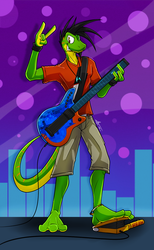 Let's Rock! #8  (new design update) by McTaylis