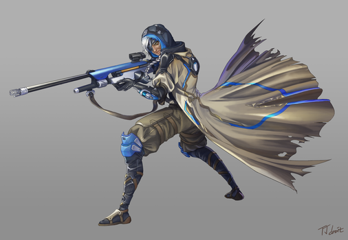 OverWatch : Ana by truejjack