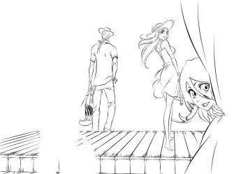 Bleach At The Beach WIP by l3xxybaby