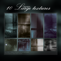 10 Large Textures by Neloaart