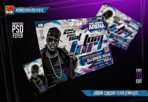 Urban Concert Flyer Template by AndyDreamm