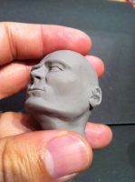 Cabeza Super Sculpey Firm by jarnac