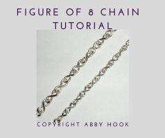 Figure of 8 chain tutorial by AbbyHook