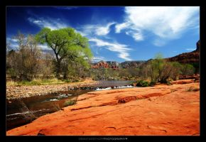 Red Rock Stream by CapturingNature