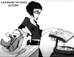 The Joy of Cooking by violentsound