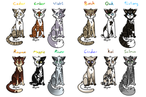 Semi-realistic adopts (9/12) PRICE LOWERED by XRhymee