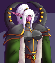 Maiev by DarkShadowWolf