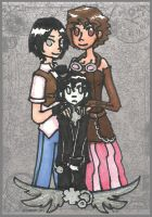 MAX: Steampunk Family Portrait by Tozoku