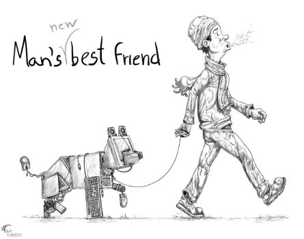 man's (new) best friend by foice