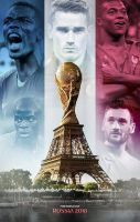 France-FIFA World Cup Russia 2018 by Flavio170