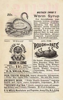 Victorian Advertising - Kill Or Cure by Yesterdays-Paper