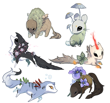 Sticker Esk Commissions Round One by rejamrejam