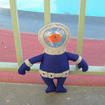 Deep Sea Diver Dave by Miss-Rue