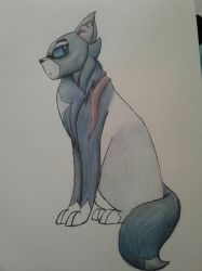 Unfinished Bluestar WIP by LillazKoiFish