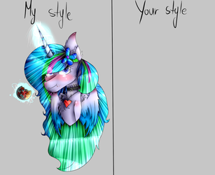 {Big Collab} My style VS Your style by BlueStarOfficials