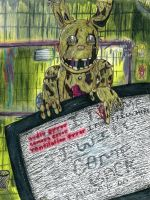 Springtrap FNaF 3 'I Can Help With That' Complete by StormStrikeElectric