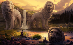 Lionsfall by Verlidaine