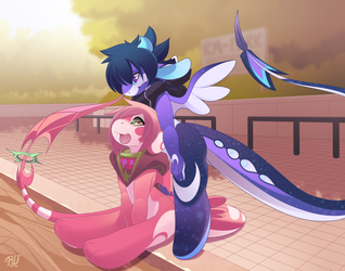 COMMISSION for dustfalconmlp by phation