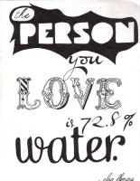 the person you love by recreationaluseage
