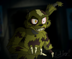 Salvaged Springtrap (Tony Crynight Version) by Emil-Inze