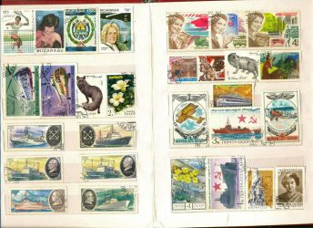 Postage Stamp collection 4 by vinkrins